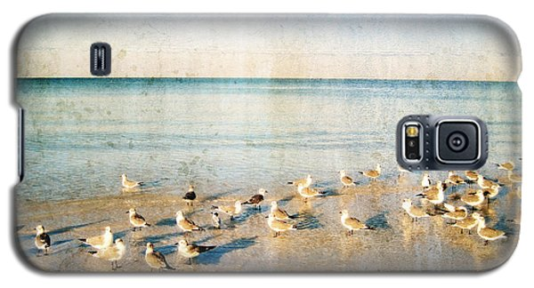 Beach Combers - Seagull Art By Sharon Cummings Galaxy S5 Case by Sharon Cummings