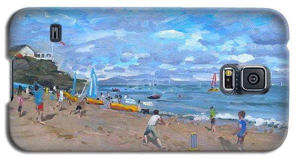 Cricket Galaxy S5 Case - Beach Cricket by Andrew Macara