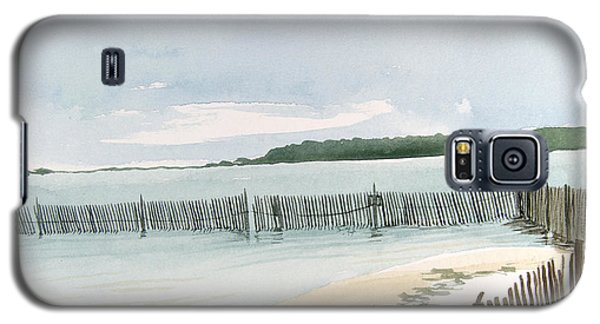 Beach Fence Galaxy S5 Case