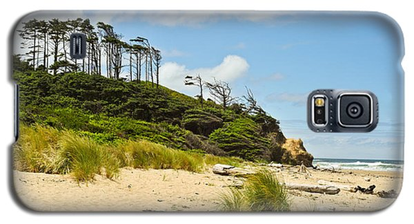 Galaxy S5 Case featuring the photograph Beach Forest by Crystal Hoeveler