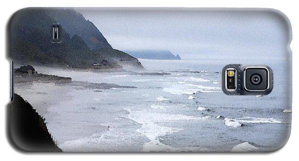 Beach Frontage In Monet Galaxy S5 Case by Sharon Elliott