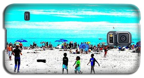 Beach Fun 3 Galaxy S5 Case