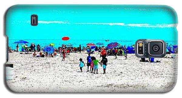 Beach Fun Frisbee Galaxy S5 Case
