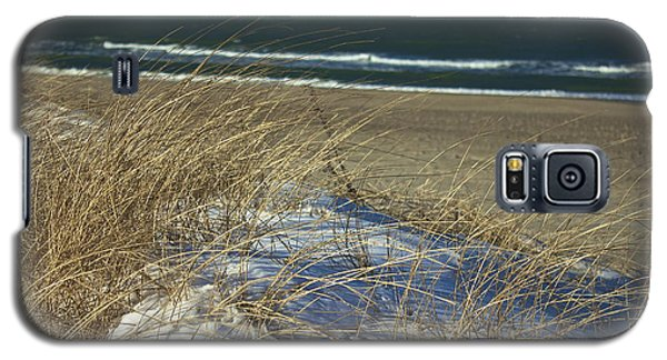 Galaxy S5 Case featuring the photograph Beach Grass by Amazing Jules