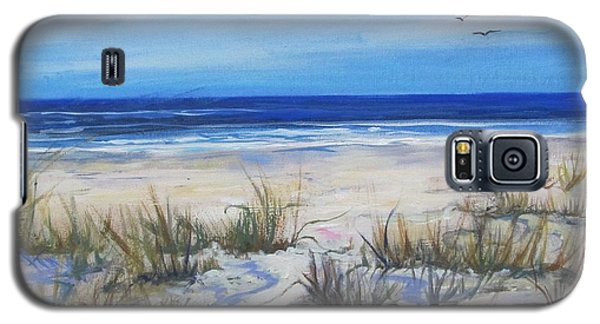 Beach Grasses Galaxy S5 Case