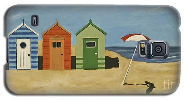 Beach Huts Galaxy S5 Case