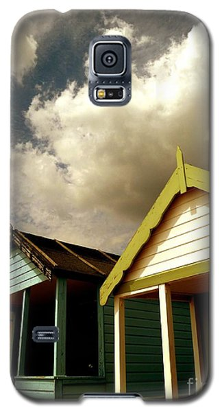 Beach Huts Galaxy S5 Case by Vicki Spindler