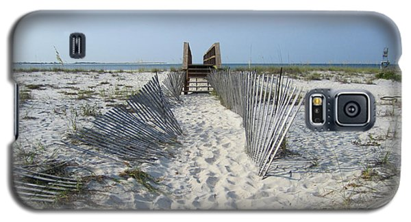 Galaxy S5 Case featuring the photograph Beach by Jon Emery