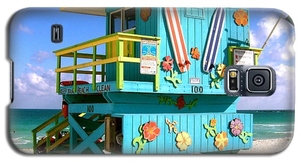 Beach Life In Miami Beach Galaxy S5 Case