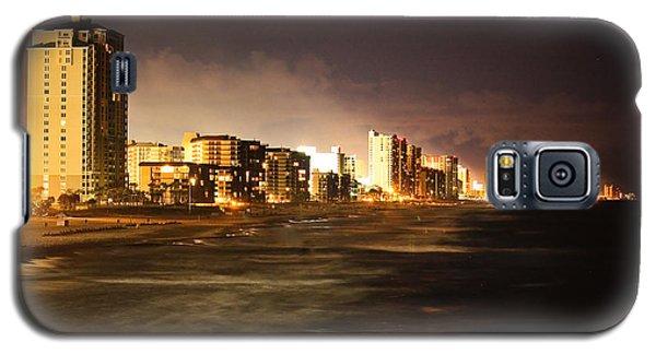 Beach Line Galaxy S5 Case by Tammy Schneider
