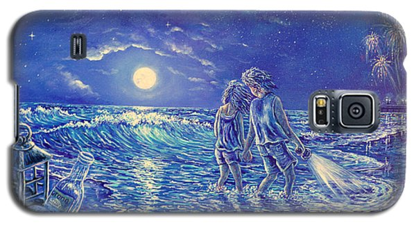 Beach Lites Galaxy S5 Case