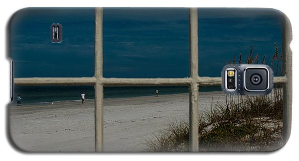Beach Lookout Galaxy S5 Case by Randy Sylvia