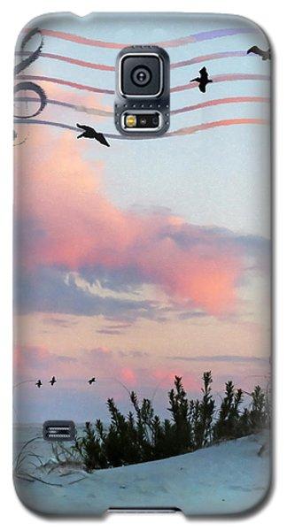 Beach Music Galaxy S5 Case by Deborah Smith