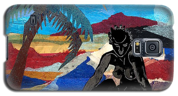 Beach Nude 3 Galaxy S5 Case