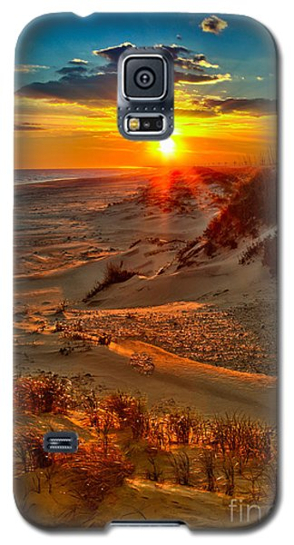 Beach On Fire - Outer Banks Galaxy S5 Case