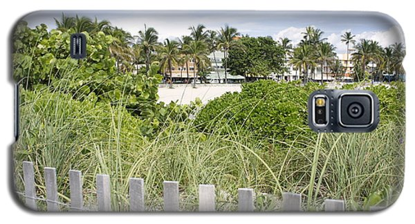 Galaxy S5 Case featuring the photograph Beach Path by Laurie Perry