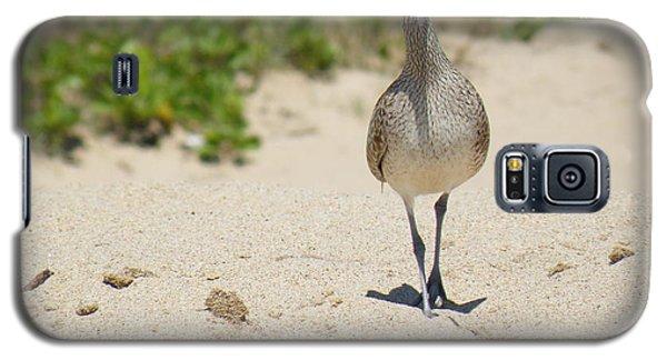 Galaxy S5 Case featuring the photograph Beach Patrol by Brian Boyle