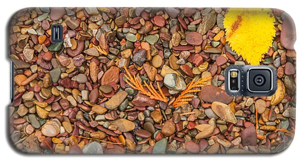Beach Pebbles Of Montana Galaxy S5 Case