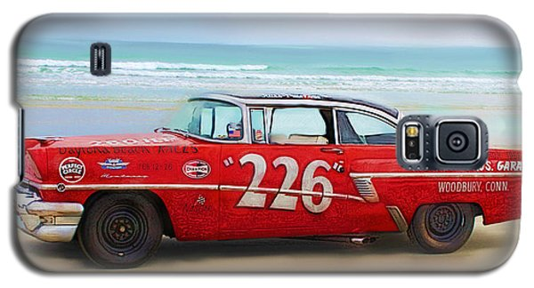 Beach Race Car 226 Galaxy S5 Case