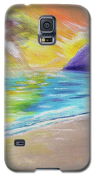 Beach Reflection Galaxy S5 Case