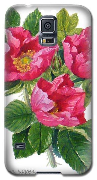 Beach Roses -  Rosa Rugosa Galaxy S5 Case