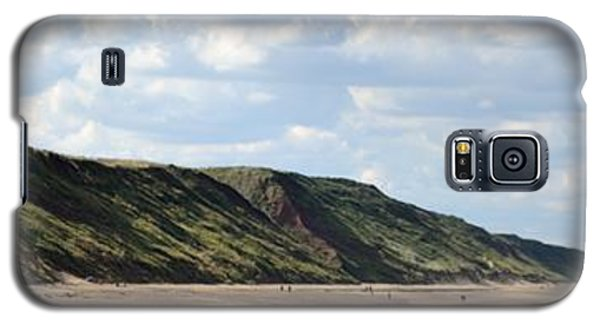 Beach - Saltburn Hills - Uk Galaxy S5 Case