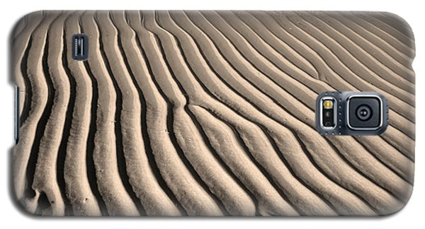 Beach Sand Ripples Galaxy S5 Case by Brooke T Ryan