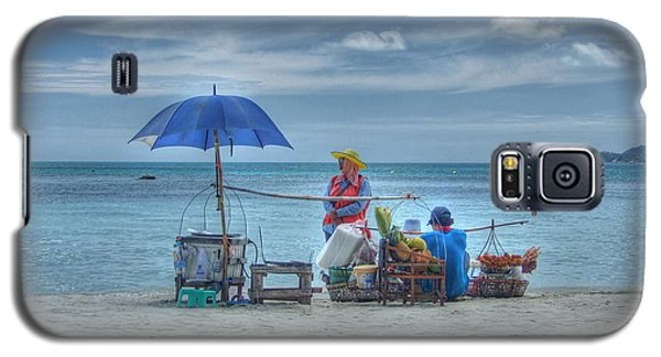 Beach Sellers Galaxy S5 Case by Michelle Meenawong