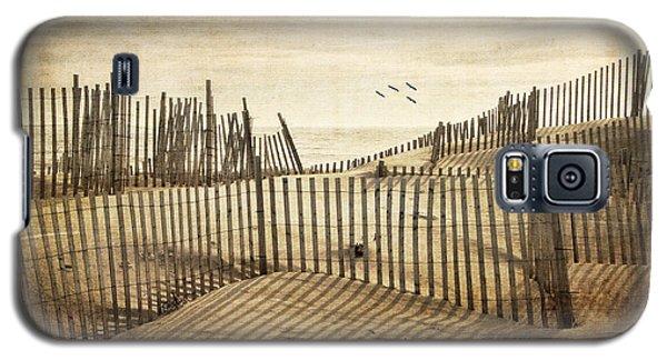Beach Shadows Galaxy S5 Case