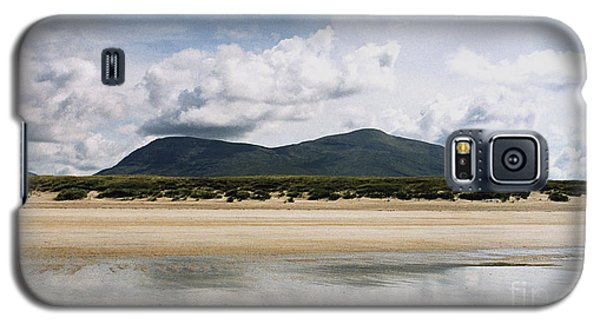 Galaxy S5 Case featuring the photograph Beach Sky And Mountains by Rebecca Harman