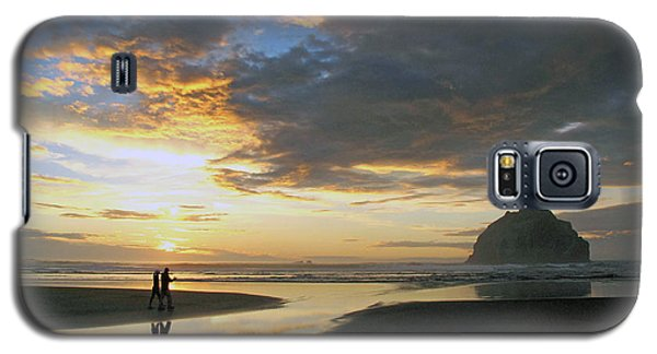 Bandon Beach Stroll Galaxy S5 Case by Suzy Piatt