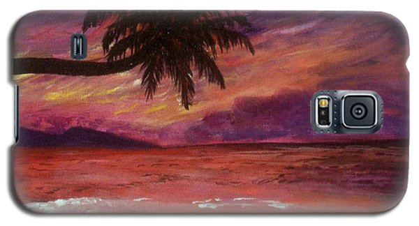 Beach Sunset Galaxy S5 Case
