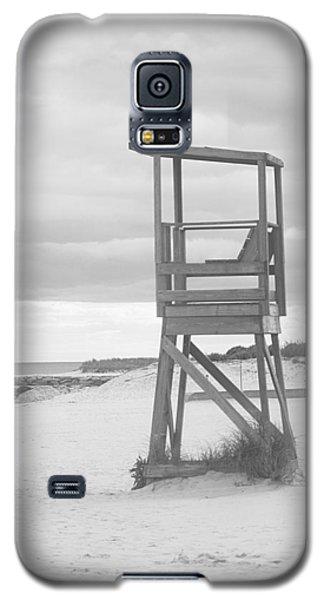 Beach Throne Harwich Ma Bw I Galaxy S5 Case by Suzanne Powers
