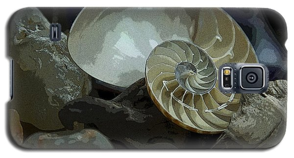 Galaxy S5 Case featuring the photograph Beach Treasures by Jeanette French
