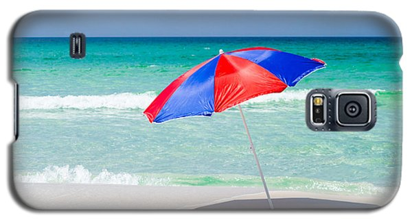 Beach Umbrella Galaxy S5 Case by Shelby  Young