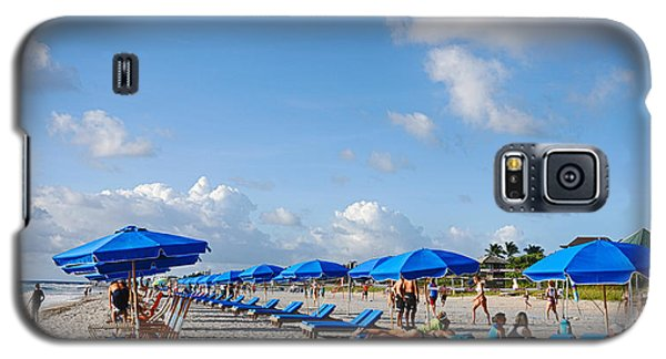 Beach Umbrellas Galaxy S5 Case