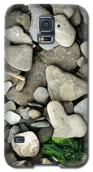 Beach Valentine Galaxy S5 Case by Rebecca Sherman