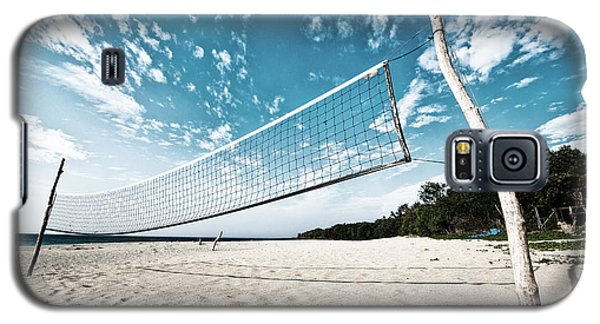Beach Volleyball Net Galaxy S5 Case