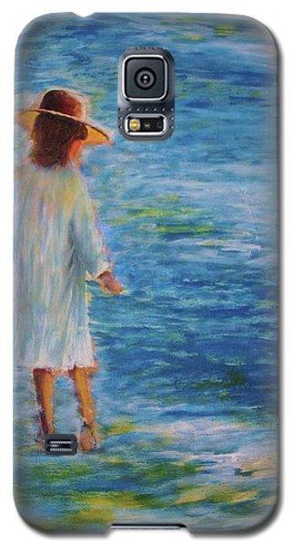 Beach Walker Galaxy S5 Case by John Scates