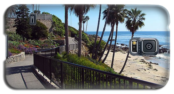 Beach Walkway Galaxy S5 Case