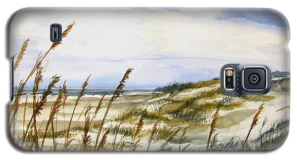 Beach Watercolor 3-19-12 Julianne Felton Galaxy S5 Case