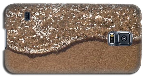 Beach Where The Water Meets The Sand Galaxy S5 Case