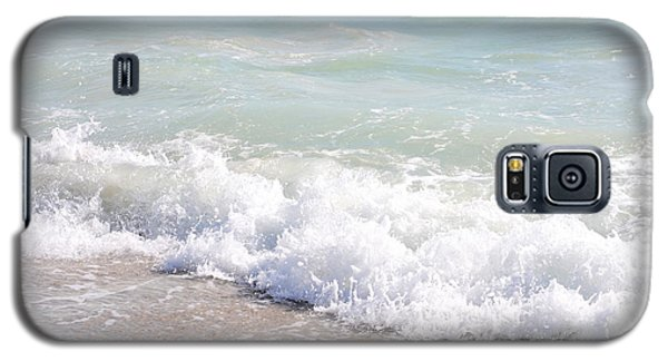 Galaxy S5 Case featuring the photograph Surf And Sand by Margie Amberge