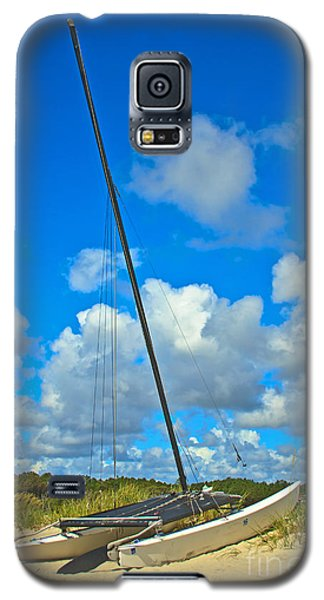Beached Catamaran  Galaxy S5 Case