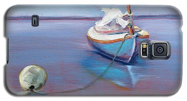 Beached Sailboat At Mooring Galaxy S5 Case