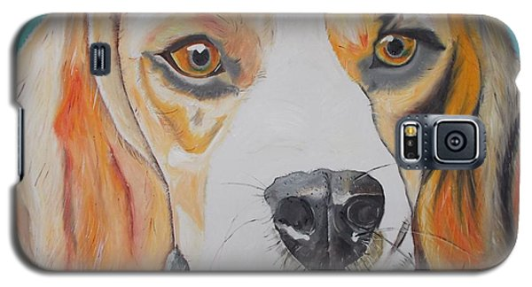 Galaxy S5 Case featuring the painting Beagle by PainterArtist FIN