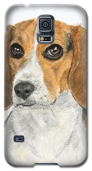 Beagle Painting Galaxy S5 Case