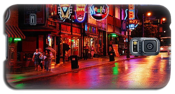 Beale Street Memphis Galaxy S5 Case by James Kirkikis
