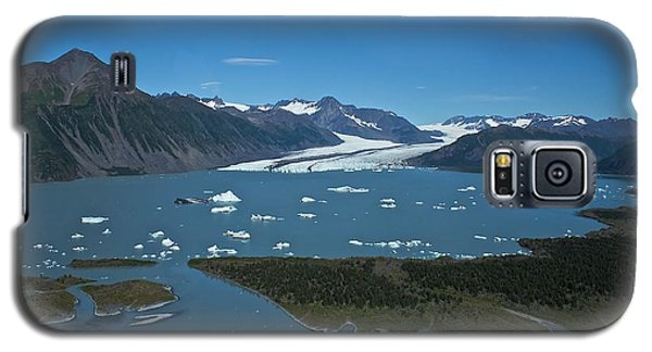 Galaxy S5 Case featuring the photograph Bear Glacier Seward Alaska by Michael Rogers
