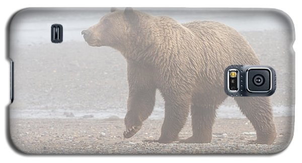 Bear In Fog Galaxy S5 Case by Chris Scroggins